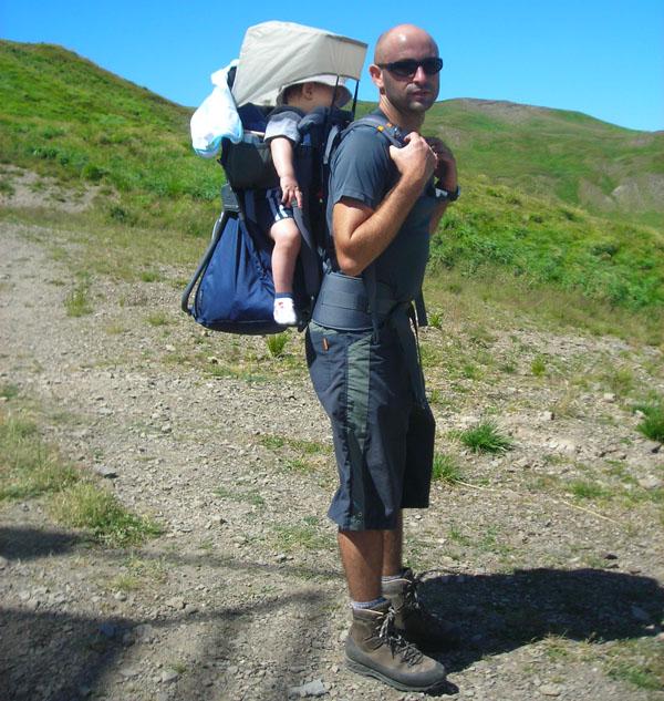 Trekking con i bambini - Zaino trekking porta bimbo ...